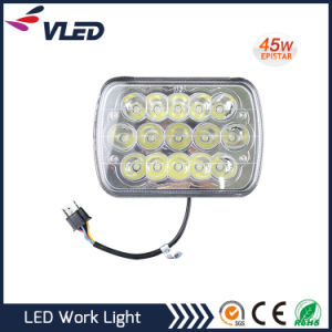 45W LED Work Lights 12V 24V for Auto Truck Tractor pictures & photos