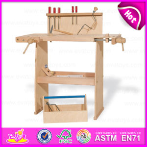 2015 Kids Smart Pieces Toys Tool Set, Cheap Children Assembled Wooden Tool Sets Toy, Eco-Friendly Wooden Toy Hand Tool Toy W03D059 pictures & photos