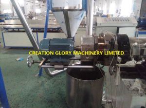 Hot Sale Filler Master Batch Plastic Extruding Pelletizing Machine pictures & photos