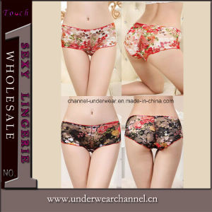 Ladies Seamless G-String Underwear Sexy Panty (7651) pictures & photos