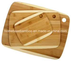 LFGB FDA SGS Bamboo Chopping Cutting Cheese Pizza Fruit Board pictures & photos