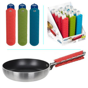 Silicone Handle Grip, Non-Slip Silicone Pot Handle Grip Stay Cool pictures & photos