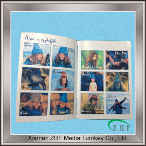 Color Removable Sticker Books Printing pictures & photos