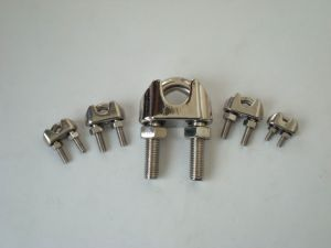 Us Type Stainless Steel Wire Rope Clip pictures & photos