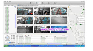 4 Channel Ahd 720p SD Card Mobile DVR Vehicle Surveillance System pictures & photos