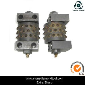 Stone Concrete Floor Marble Bush Hammer Rollers with Lubricate pictures & photos