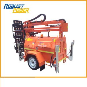 Diesel Generator Set Hydraulic Lighting Tower pictures & photos