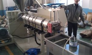 Pet/PP/PE Plastic Pellet Extrusion Line Plastic Granulator Machine pictures & photos