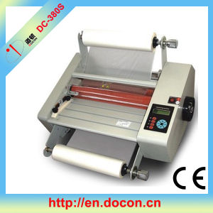 DC-380s Rubber Roller Hot/Cold Laminating Machine