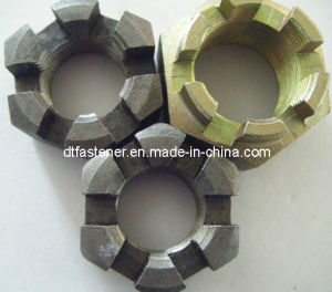 Hexagon Slotted Nuts