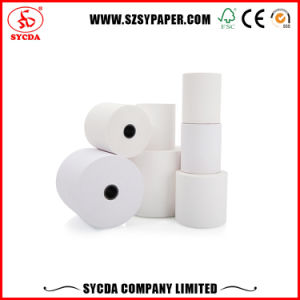 55GSM High White POS Thermal Paper Wood Pulp pictures & photos