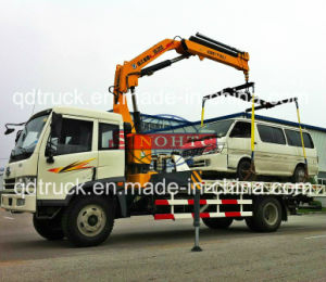 FAW Rescue Truck mounted crane, 3 tons road rescue truck pictures & photos