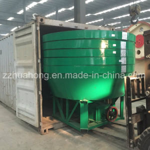 China Wet Pan Mill for Gold Selection, Gold Ore Grinding Wet Pan Mill Price pictures & photos