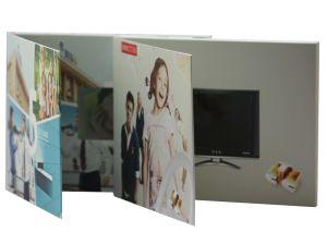 Custom Artwork Video Wedding Card pictures & photos