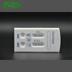 One Step Drug Testing Rapid Diagnostic Oraquick Saliva Met Test Cassette pictures & photos