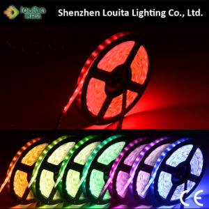 5050 RGB IP65 Waterproof Light Strip LED pictures & photos