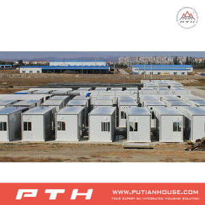 Customized Living Prefabricated Container House in Kazakhstan pictures & photos