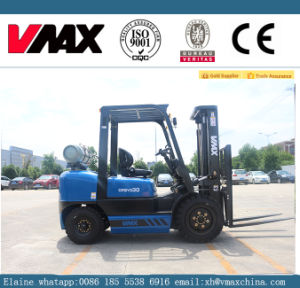 3 Ton LPG-Gasoline Forklift with Nissan Engine pictures & photos