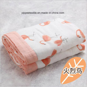4 Plies Baby Muslin Blanket pictures & photos