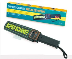 Super Wand Wireless Recharge Hand Metal Detector pictures & photos