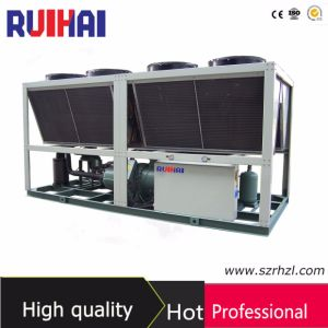 116.3kw Packaged Unit Low Noise Air Cooled Screw Type Water Chiller for Printing pictures & photos
