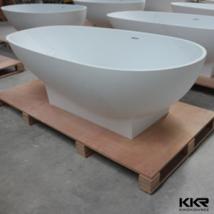 China Wholesale Black Solid Surface Soaking Bath Tub (BT170905) pictures & photos