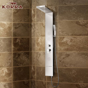 Stainless Steel Front Panel in 8k Mirro Finsih Shower Column (K2605) pictures & photos