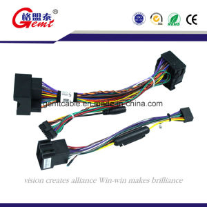 Auto AV Connecting Wiring Harness DC Connecting Wires Cable with Double pictures & photos
