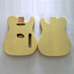 Replacement Finished 2 Piece Alder Blonde Tele Guitar Body pictures & photos