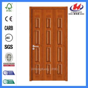 Solid Core Laminate Designs Wood Veneer Doors (JHK-013) pictures & photos