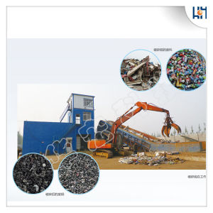 Hydraulic Waste Scrap Metal Shredding Lines Recycling Crusher Shredder pictures & photos
