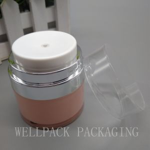 High Quality Acrylic Airless Cream Jar for Cosmetic Packaging pictures & photos