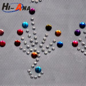 Custom Made Print Logo Various Colors Rhinestone Hotfix Transfer pictures & photos