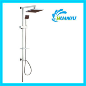 ABS Shower Set with Sliding Hand Shower Holder (HY1006) pictures & photos