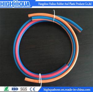 High Strength Weaving Fiber Double Line Welding Hose pictures & photos