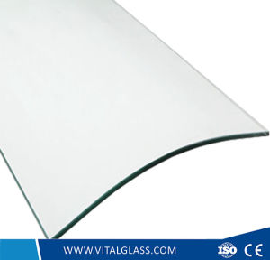 Tempered Clear Bent Float Glass/Laminated/Reflective/Patterned/Frosted Glass pictures & photos