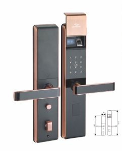 Electronic Safe Intelligent Lock for Entrance Door for Houses pictures & photos