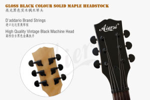 2017 Solid Zebrawood New Wholesale Gloss Electric Guitar pictures & photos