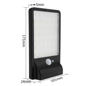 450lm 42 LED Solar Power Motion Sensor Light Garden Lamp Waterproof Security Outdoor Wall Light pictures & photos