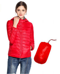Women′s Light Short Padded Jacket, Winter Jacket pictures & photos