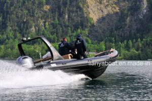 Liya 22feet Rigid Hull Inflatable Rib Boat Luxury pictures & photos