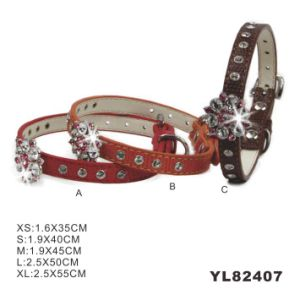 Wholesale China PU Waterproof Dog Collar (YL82405) pictures & photos