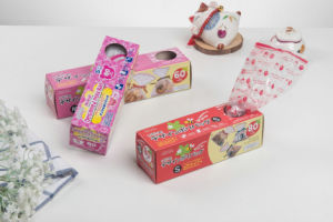 HDPE Animal Designed Plastic Gift Packing Rolled Bag for Bakery pictures & photos