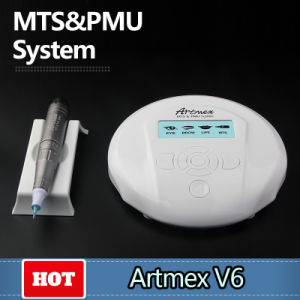 Semi-Permanent Cosmetic Tattoo Machine Artmex V6 for Scar Camouflage Korea Style pictures & photos