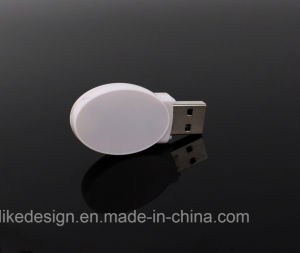 Customed Logo Plastic USB Flash Drive pictures & photos