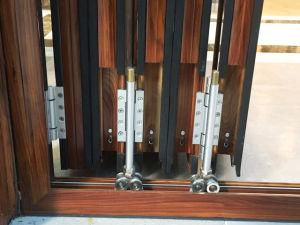Double Glazing Soundproof Heavy Duty Bi-Folding Doors for Balcony Entrance pictures & photos
