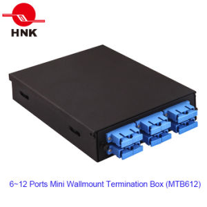 6~12 Ports Mini Wall-Mount Termination Box pictures & photos