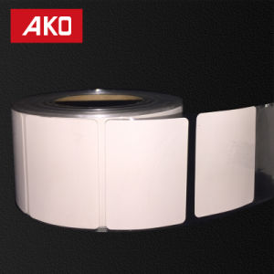 Thermal Coated Layer Heat Sensitive Pet Liner Oil Proofing Self Adhesive Sticker Rolls pictures & photos