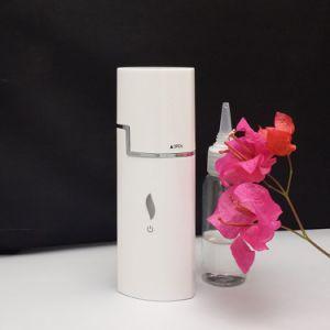Portable USB Rechargeable Moisturizing Nano Mist Sprayer Beauty Mini Atomization Facial Steamer Face Humidifier pictures & photos