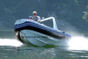 5.2m Fiberglass Rigid Inflatable Rib Boat Fishing Boat Rib Boat pictures & photos